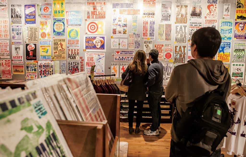 nashville bucket list | hatch show print