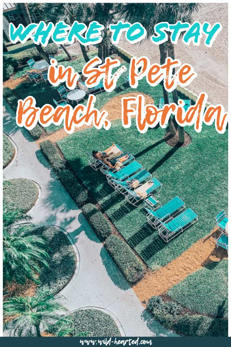 resorts in st petersburg florida on the beach