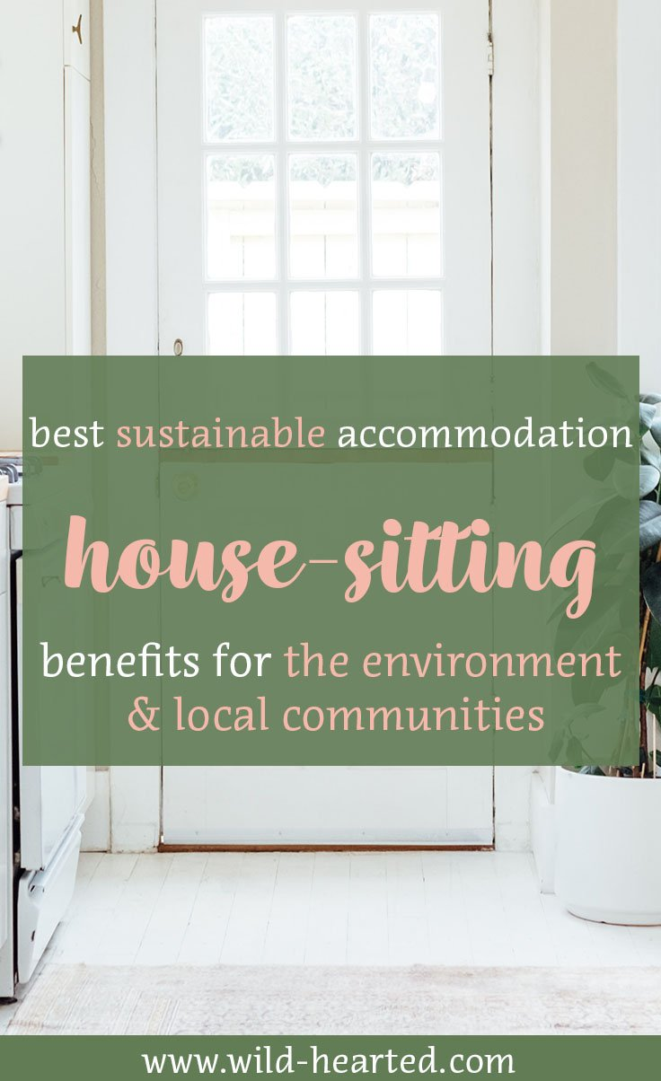 housesitting sustainability