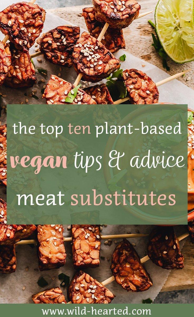 vegan meat substitutes