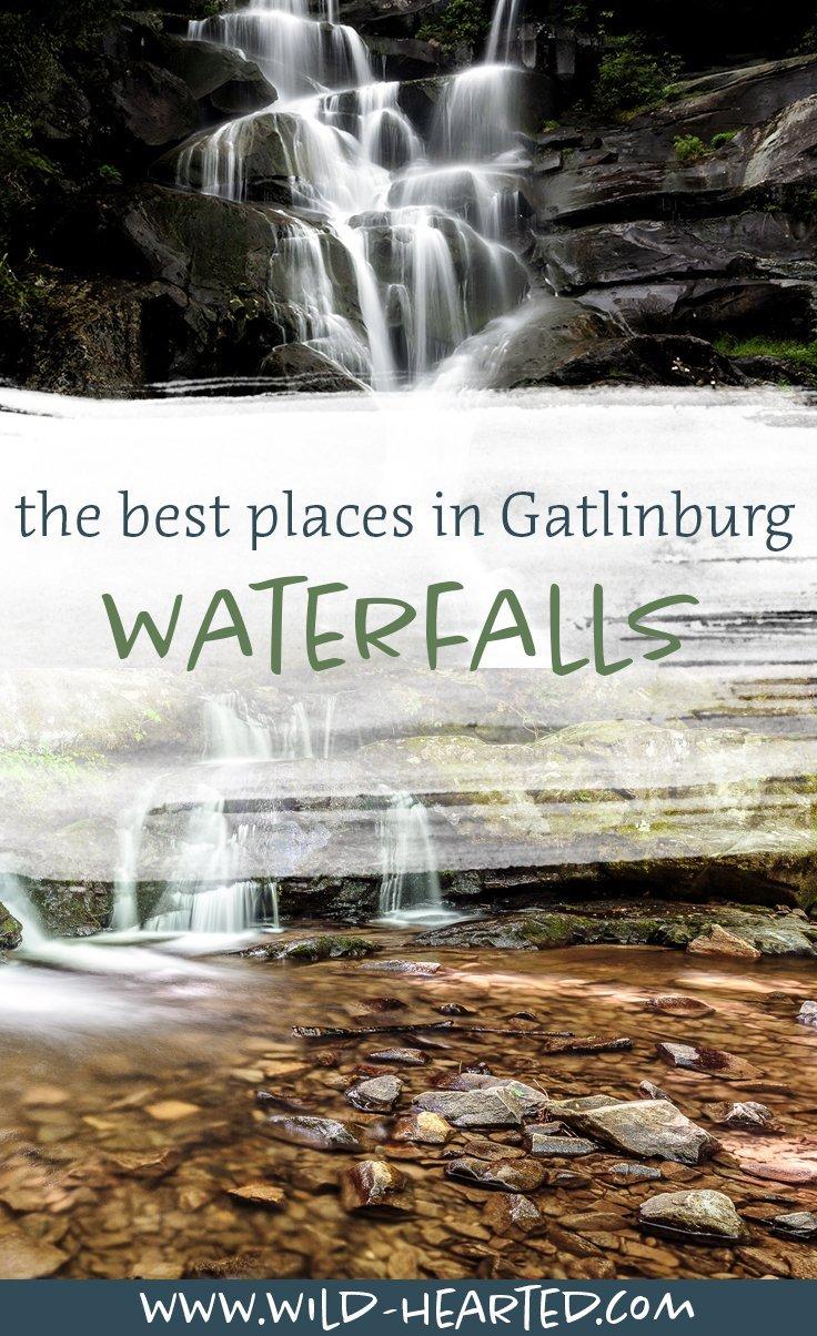 waterfalls near gatlinburg