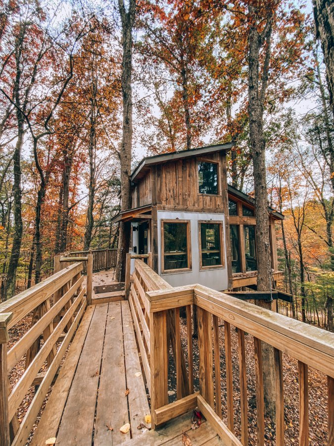 Treehouses for Rent in Ohio